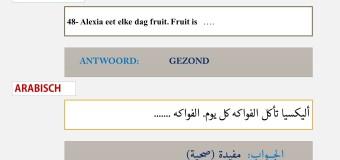امتحان اللغة الهولندية  Spreekvaardigheid 1: Zinnen afmaken